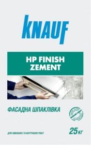 Мешок штукатурки 25 кг HP Finish Zement